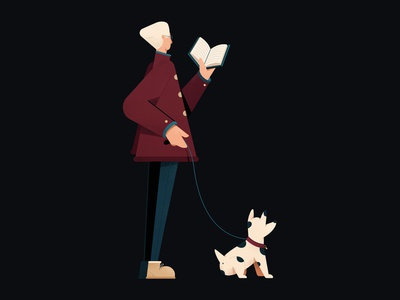 Late night walk brazil sp editorial texture color vector product character art direction illustration