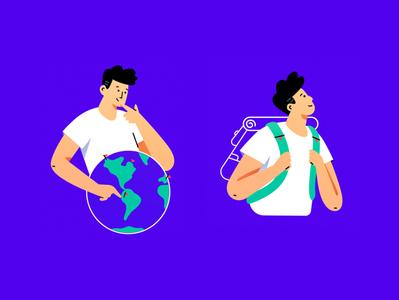 World Tour brazil sp product texture illustration illustrator vector colors traveling travel