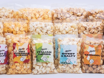 Label system & branding 🍿 design typography label logo icon mexican art mexicanfood packaging label packaging branding