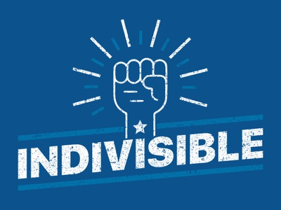 Indivisible T-Shirt Design resistance indivisible movement threadless