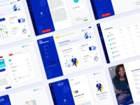 TheDifference Customer Screen Collection web application design web apps web application web app design web app web app dashboard web dashboard dashboard design dashboard app dashboard ui therapist therapy dashboard app blue