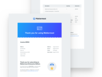 Mattermost Invoice Email