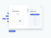 Product Demo Scheduler - Step 1