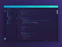 Coder ide concept