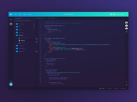 Coder IDE Concept - Code Editor