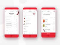 H-E-B Delivery Mobile App - Random Screens
