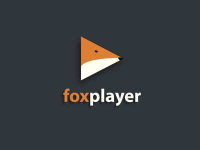 Foxplayer - Logo Concept illustration logodesign