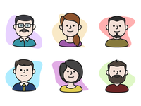 Character Icons for Thumbnails