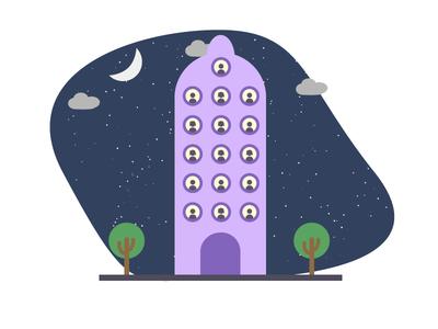 World Population Day illustration logodesign