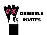 Couple of Dribbble Invites