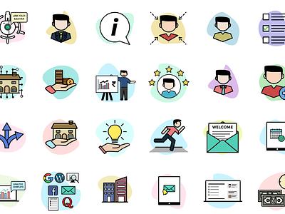 SwitchMe Icon Set icongraphy graphic design illustration icons