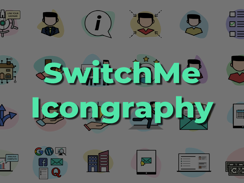 SwitchMe Icon Set icongraphy graphic design illustration icons