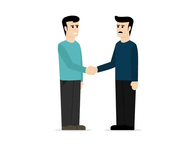 Nice to Meet You! flyer design character design graphic design illustration