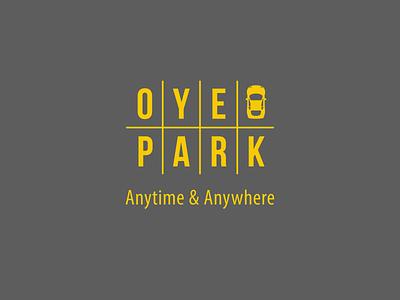 Oye Park Logo identity design branding logo design illustraor logo