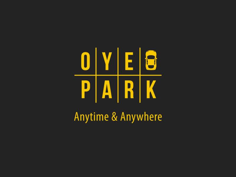 Oye Park Logo - Background Colour typography branding logodesign icons icongraphy graphic design illustration