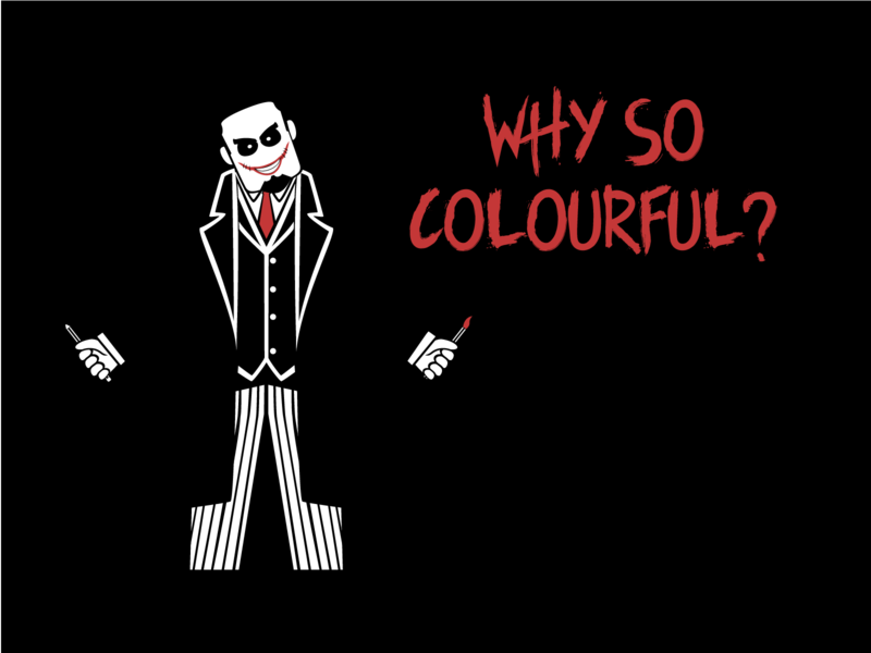 Creative Joker character design logodesign design graphic design illustration