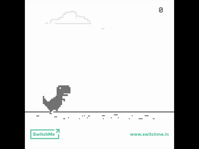 T-Rex Caught Your Message - SwitchMe Ad