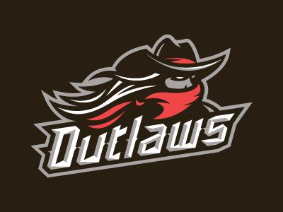 Outlaws Hockey Logo womens sports logo sports hockey outlaws