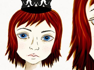 Lilttle Princess illustration girl digital character