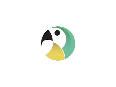 Parrot 2 web uix perfect logo grids circle bird best