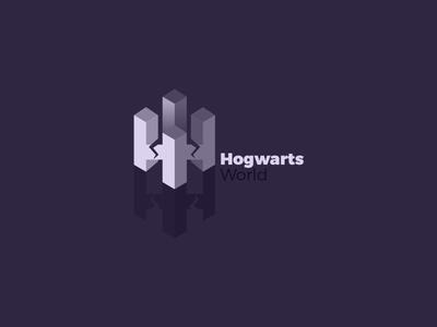 Hogwarts Harry Potter World Logo logo world potter harry hogwarts