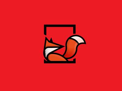 Fox Logo flat design logo animal logo fox