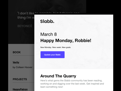 The Quarry Weekly Digest newsletter email digest