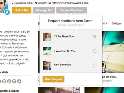Frettie Request Feedback frettie feedback request