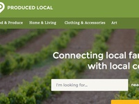 Produced Local Homepage