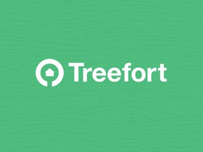 Treefort Logo silhouette simple tree logo