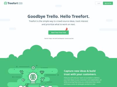 Treefort Homepage Idea treefort trees illustrations homepage