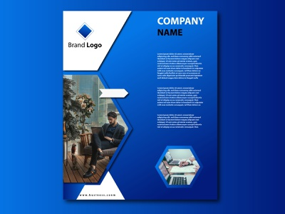 Brochure company brochure brochure design ui logo illustration graphic design design coreldraw branding 3d