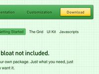 Gumby Framework Download Button & Subnav
