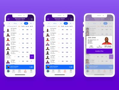 Yahoo Fantasy Redesign
