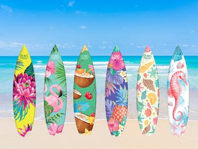 SurfBoard Design logo design image corporative illustration graphicdesigner branding vector graphic design