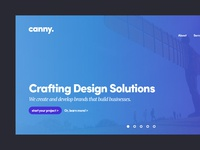 New Canny Homepage Design