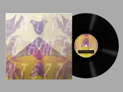 Attachment 577 - Vinyl  cover album music graphic design