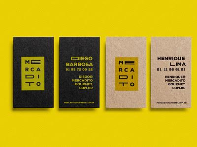 Mercadito Branding - Cards  cards food branding