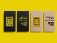 Mercadito Branding - Cards
