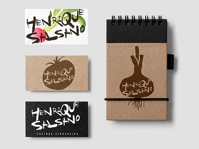 Henrique Salsano - Branding graphic design food restaurant chef branding