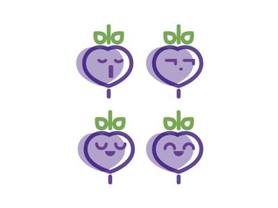 Igovegan Emoji vegan app emoji faces