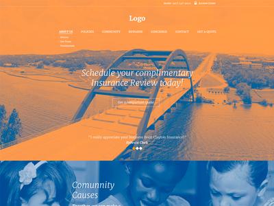 Homepage ui site homepage landingpage