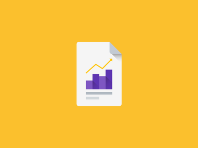 Reports material style icon mobile app material design document plant illustration icons icon flat chart android