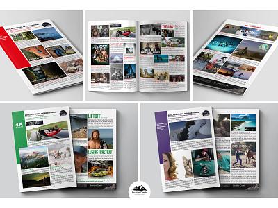 Boulder Creek Catalogues advertising print mockup brochure booklet design catalogue indesign