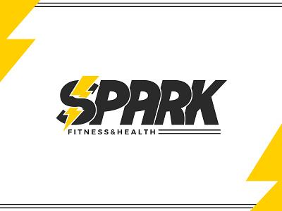 Spark Fitness & Health Branding advertising graphic design graphic illustrator vector gym fitness branding design logo