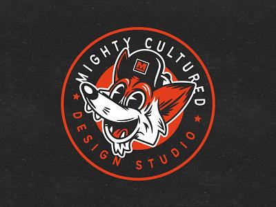 Mighty Felix Badge advertising design vector graphic illustration illlu branding logo graphic design