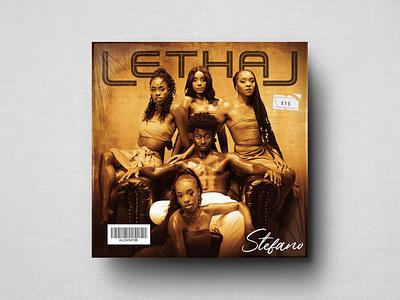 Stefano - Lethal Single Cover cd music photo photoshop graphic design advertising logo design branding