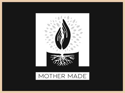 Mother Made Branding illustration graphic design graphic vector advertising logo design branding