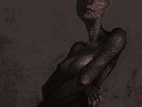 Noah bradley tattoo lady sketch