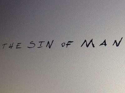 The Sin of Man logo WIP